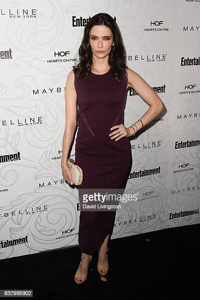 Actress Bitsie Tulloch arrives at the Entertainment Weekly celebration honoring nominees for The Screen Actors Guild Awards at the Chateau Marmont on...