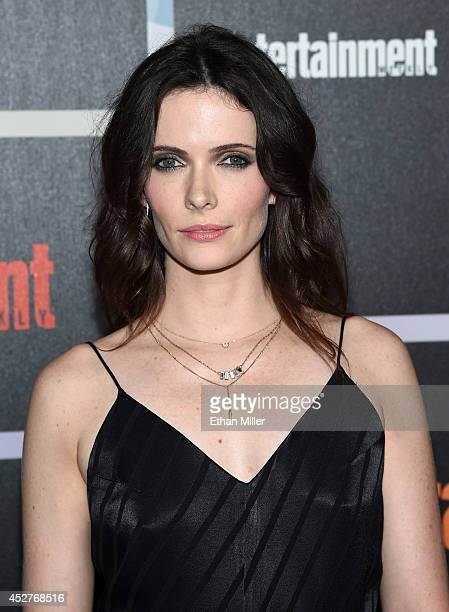 Actress Bitsie Tulloch attends Entertainment Weekly's annual ComicCon celebration at Float at Hard Rock Hotel San Diego on July 26 2014 in San Diego...