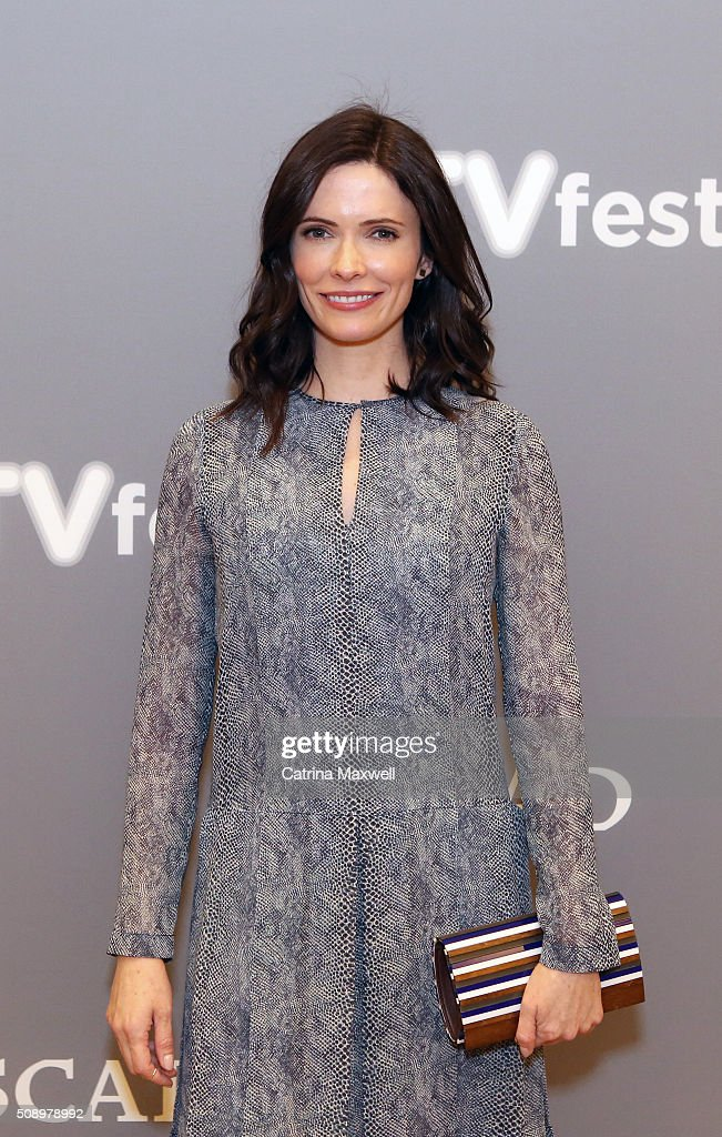 Actress <a gi-track='captionPersonalityLinkClicked' href=/galleries/search?phrase=Bitsie+Tulloch&family=editorial&specificpeople=4616199 ng-click='$event.stopPropagation()'>Bitsie Tulloch</a> attends the 'Grimm' event during aTVfest 2016 presented by SCAD on February 7, 2016 in Atlanta, Georgia.
