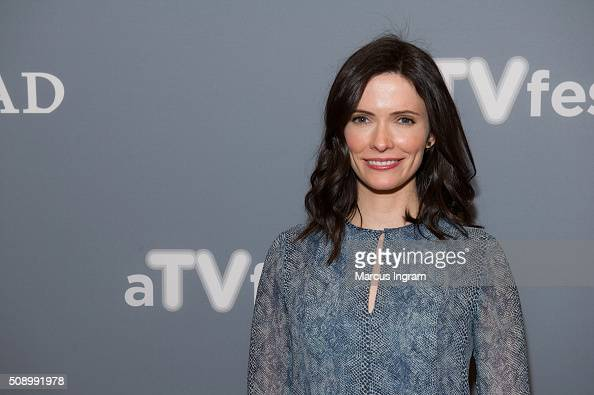 Actress Bitsie Tulloch attends the 'Grimm' event during SCAD aTVfest 2016 at the Four Seasons Atlanta Hotel on February 7 2016 in Atlanta Georgia