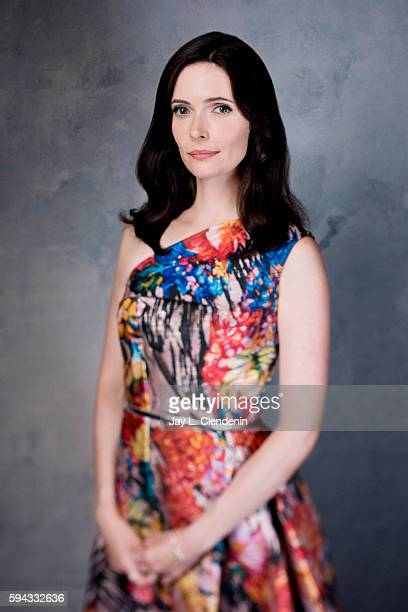 Actress Bitsie Tulloch of 'Grimm' is photographed for Los Angeles Times at San Diego Comic Con on July 22 2016 in San Diego California