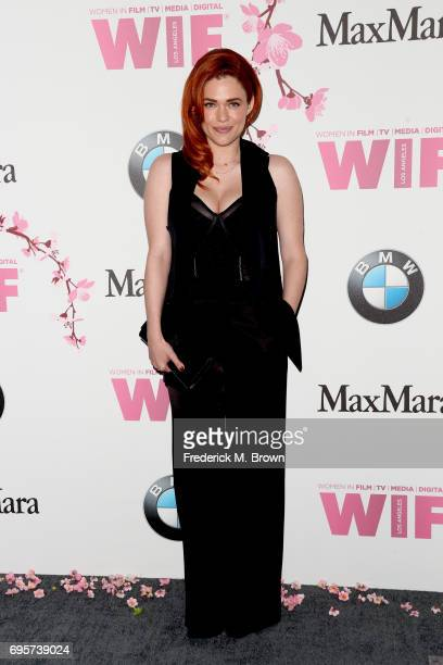 Actress Blair Bomar at Women In Film 2017 Crystal Lucy Awards presented By Max Mara and BMW at The Beverly Hilton Hotel on June 13 2017 in Beverly...