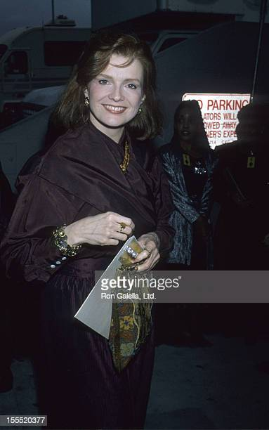 Actress Blair Brown attends 11th Annual ACE Awards on January 14 1990 at the Wiltern Theater in Los Angeles California
