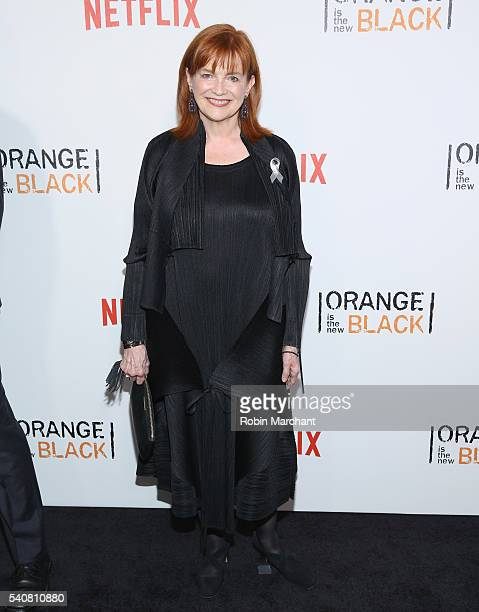 Actress Blair Brown attends 'Orange Is The New Black' New York City Premiere at SVA Theater on June 16 2016 in New York City