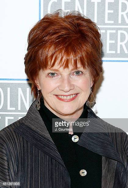 Actress Blair Brown attends the afterparty for the opening night of 'Shakespeare's Macbeth' at Avery Fisher Hall Lincoln Center on November 21 2013...