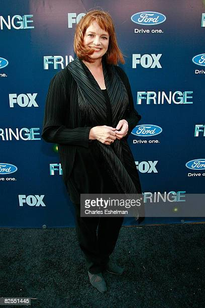 Actress Blair Brown attends the 'Fringe' premiere party at THE XCHANGE on August 25 2008 in New York City