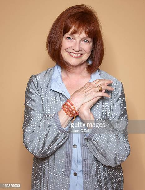 Actress Blair Brown is photographed at Comic Con Festival for TV Guide Magazine on July 23 2011 in San Diego California