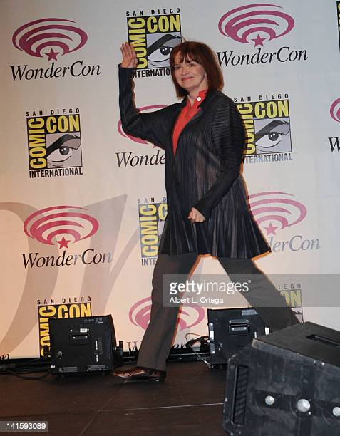 Actress Blair Brown participates in 2012 WonderCon Day 3 held at Anaheim Convention Center on March 18 2012 in Anaheim California