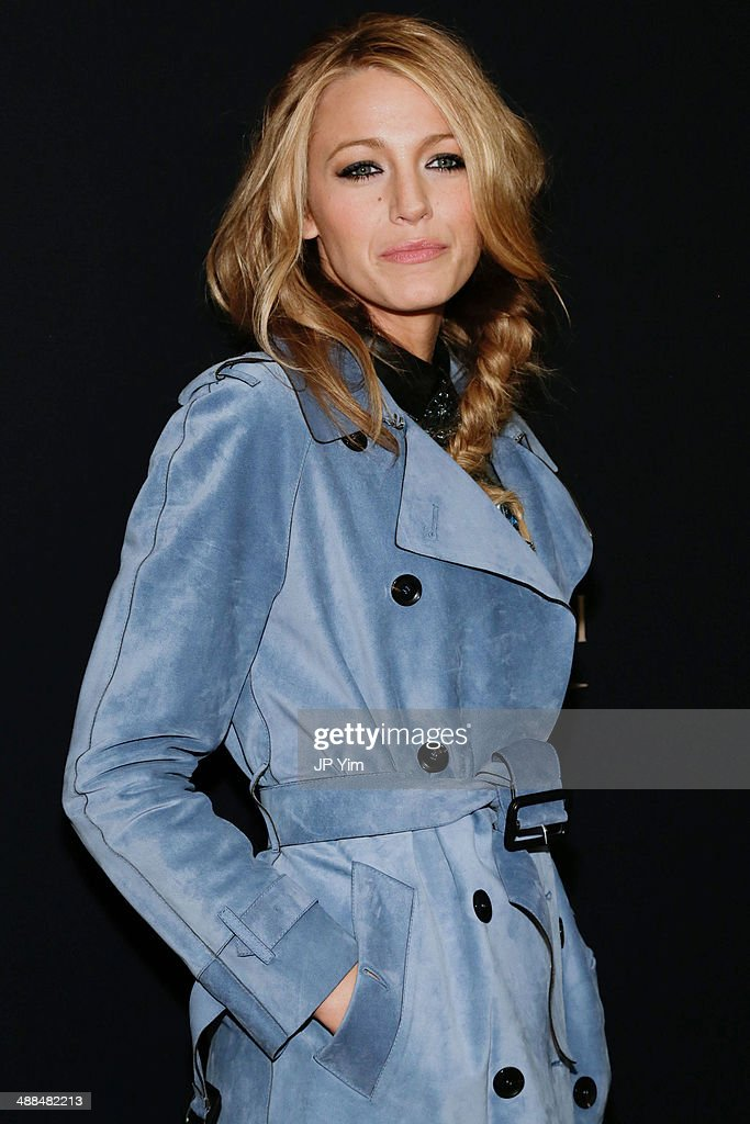 Actress Blake Lively attends a celebration for the new Gucci campaign, 'Chime For Change' at Macy's Herald Square on May 6, 2014 in New York City.