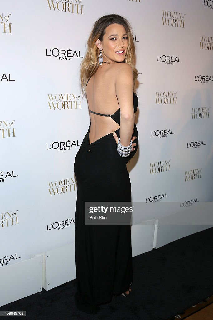 Actress Blake Lively attends L'Oreal Paris' Ninth Annual Women Of Worth Celebration at The Pierre Hotel on December 2 2014 in New York City