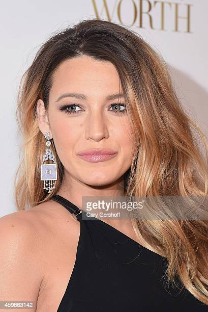 Actress Blake Lively attends L'Oreal Paris' Ninth Annual Women Of Worth Awards at The Pierre Hotel on December 2 2014 in New York City