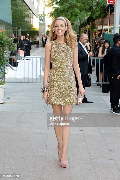 Actress Blake Lively attends the 2014 CFDA fashion awards at Alice Tully Hall Lincoln Center on June 2 2014 in New York City