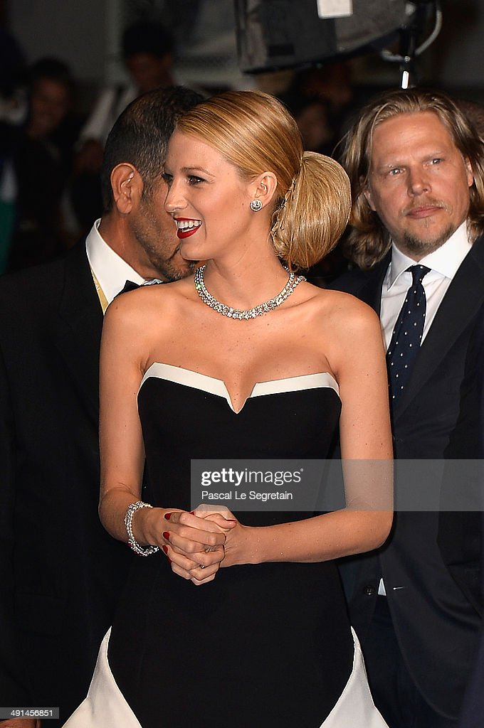 Actress Blake Lively attends the 'Captives' premiere during the 67th Annual Cannes Film Festival on May 16, 2014 in Cannes, France.