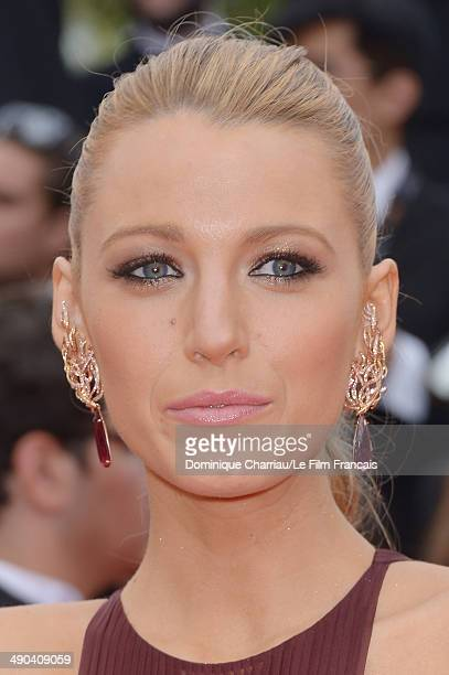 Actress Blake Lively attends the Opening Ceremony and the 'Grace of Monaco' premiere during the 67th Annual Cannes Film Festival on May 14 2014 in...