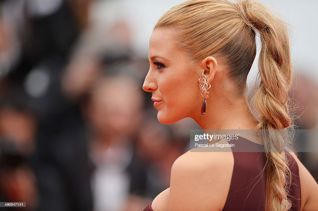Actress Blake Lively attends the Opening Ceremony and the 'Grace of Monaco' premiere during the 67th Annual Cannes Film Festival on May 14, 2014 in Cannes, France.