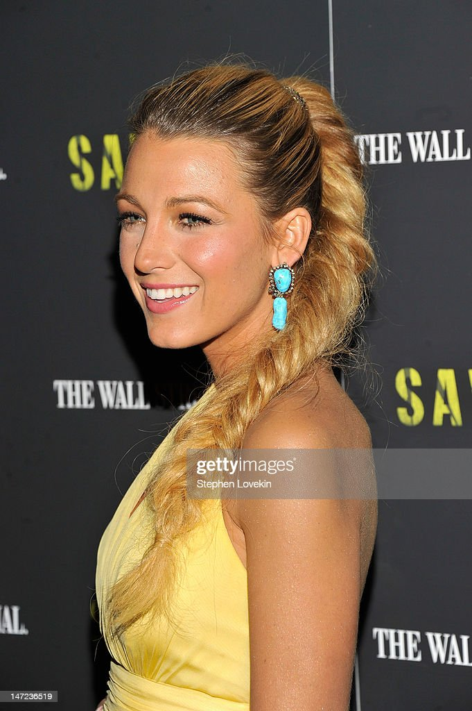 Actress Blake Lively attends the 'Savages' New York premiere at SVA Theater on June 27, 2012 in New York City.