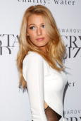 Actress Blake Lively attends the Swarovski Crystallized Concept store grand opening at Swarovski Crystallized Concept Store on June 25 2009 in New...