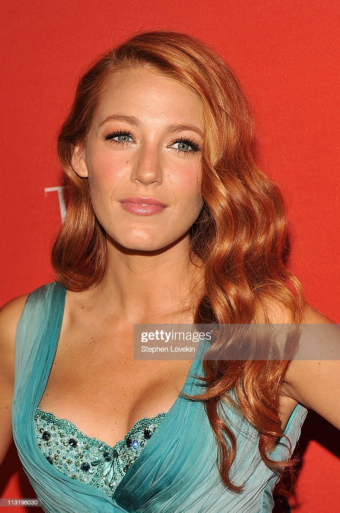 Actress Blake Lively attends the TIME 100 Gala TIME'S 100 Most Influential People In The World at Frederick P Rose Hall Jazz at Lincoln Center on...