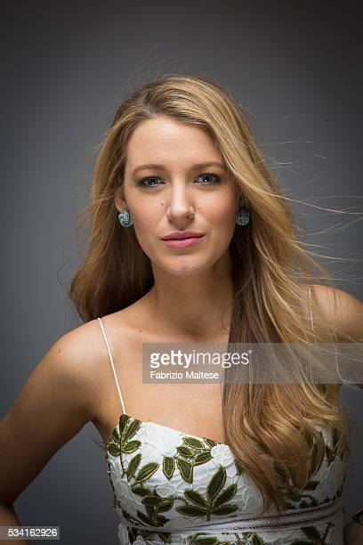 Actress Blake Lively is photographed for The Hollywood Reporter on May 14 2016 in Cannes France ON INTERNATIONAL EMBARGO UNTIL AUGUST 25 2016
