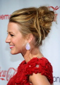Actress Blake Lively recipient of the Breakthrough Performer of the Year award arrives at the CinemaCon awards ceremony at the Pure Nightclub at...