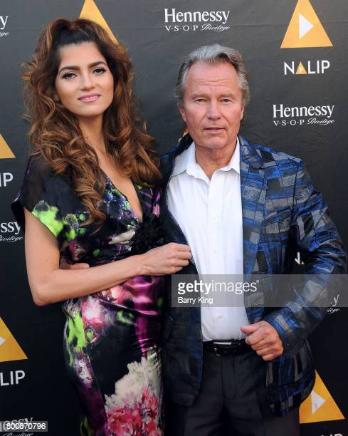 Actress Blanca Blanco and actor John Savage attend the NALIP 2017 Latino Media Awards at The Ray Dolby Ballroom at Hollywood Highland Center on June...