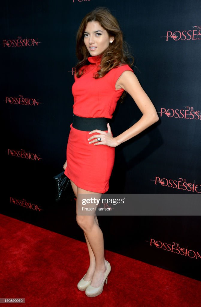 Actress Blanca Blanco arrives at the premiere of Lionsgate Films' 'The Possession' at ArcLight Cinemas on August 28, 2012 in Hollywood, California.