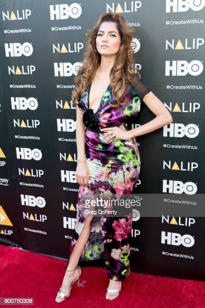 Actress Blanca Blanco arrives for the NALIP 2017 Latino Media Awards at The Ray Dolby Ballroom at Hollywood Highland Center on June 24 2017 in...