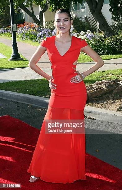 Actress Blanca Blanco attends the 2016 Stand for Kids Annual Gala benefiting the Orthopedic Institute for Children at the Twentieth Century Fox...
