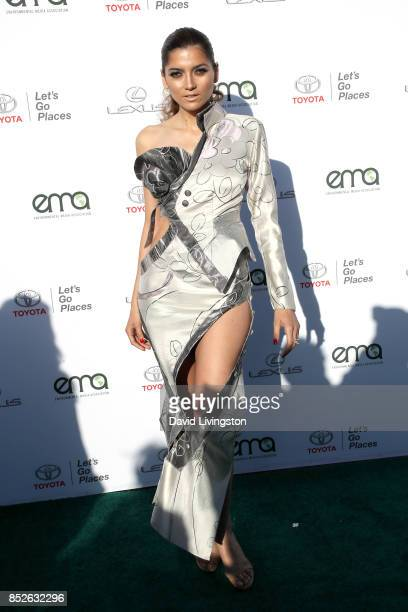 Actress Blanca Blanco attends the 27th Annual EMA Awards at Barker Hangar on September 23 2017 in Santa Monica California