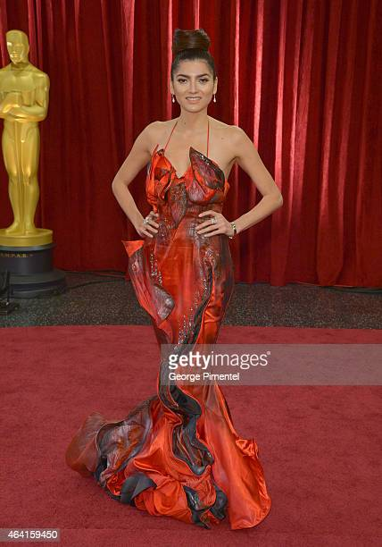 Actress Blanca Blanco attends the 87th Annual Academy Awards at Hollywood Highland Center on February 22 2015 in Hollywood California