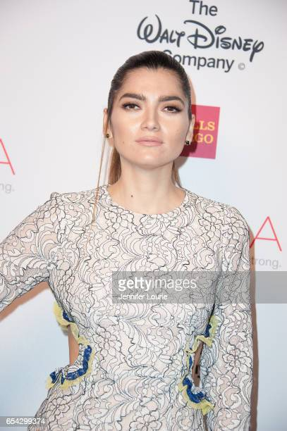 Actress Blanca Blanco attends the American Red Cross Centennial Celebration to Honor Disney as the 'Humanitarian Company of The Year' at the Beverly...
