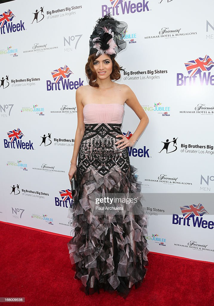 Actress Blanca Blanco attends the Britweek celebration of 'Downton Abbey' at Fairmont Miramar Hotel on May 3, 2013 in Santa Monica, California.