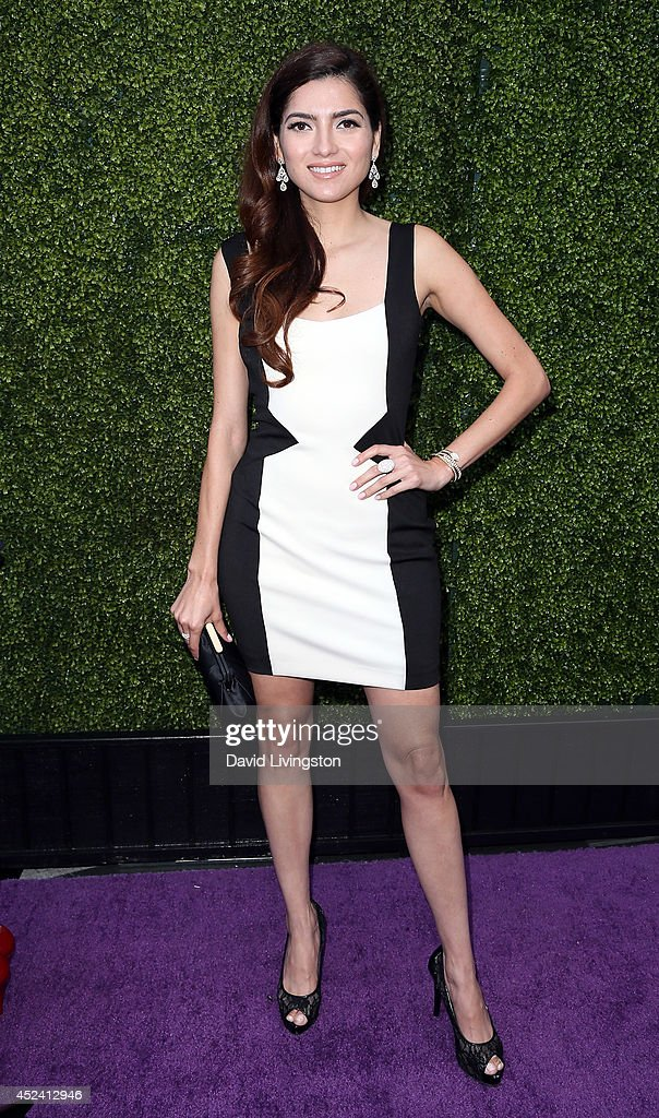 Actress <a gi-track='captionPersonalityLinkClicked' href=/galleries/search?phrase=Blanca+Blanco&family=editorial&specificpeople=9472294 ng-click='$event.stopPropagation()'>Blanca Blanco</a> attends the HollyRod Foundation's 16th Annual DesignCare at The Lot Studios on July 19, 2014 in Los Angeles, California.