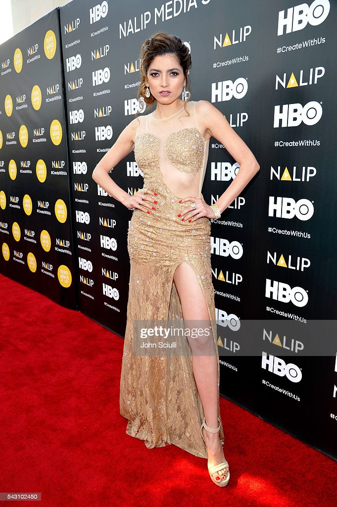 Actress <a gi-track='captionPersonalityLinkClicked' href=/galleries/search?phrase=Blanca+Blanco&family=editorial&specificpeople=9472294 ng-click='$event.stopPropagation()'>Blanca Blanco</a> attends the NALIP 2016 Latino Media Awards at Dolby Theatre on June 25, 2016 in Hollywood, California.