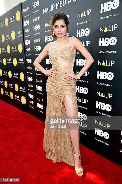 Actress Blanca Blanco attends the NALIP 2016 Latino Media Awards at Dolby Theatre on June 25 2016 in Hollywood California