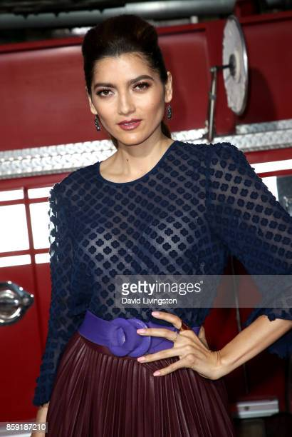 Actress Blanca Blanco attends the premiere of Columbia Pictures' 'Only the Brave' at Regency Village Theatre on October 8 2017 in Westwood California