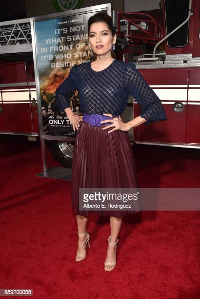 Actress Blanca Blanco attends the premiere of Columbia Pictures' 'Only The Brave' at the Regency Village Theatre on October 8 2017 in Westwood...