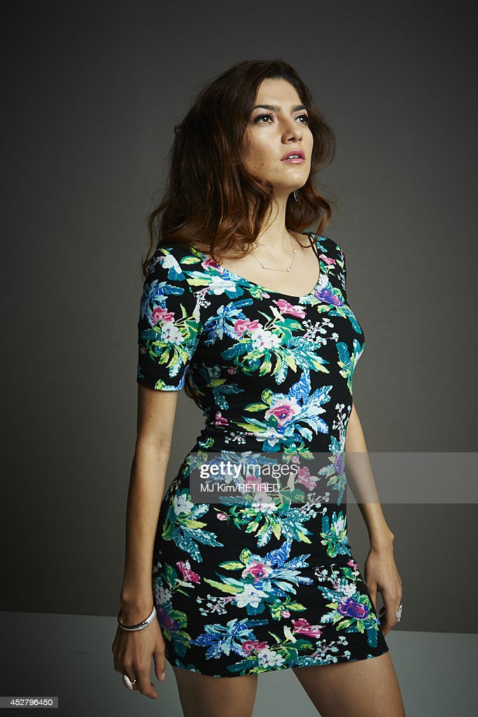Actress Blanca Blanco poses for a portrait at the Getty Images Portrait Studio Powered By Samsung Galaxy at Comic-Con International 2014 at Hard Rock Hotel San Diego on July 27, 2014 in San Diego, California.