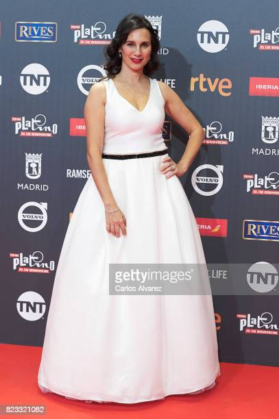 Actress Blanca Lewin attends the Platino Awards 2017 photocall at the La Caja Magica on July 22 2017 in Madrid Spain