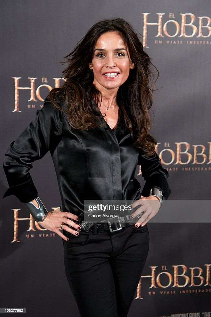 Actress Blanca Marsillach attends the 'The Hobbit An Unexpected Journey' premiere at the Callao cinema on December 12 2012 in Madrid Spain