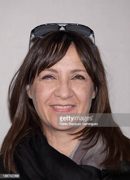 Actress Blanca Portillo attends 'La Chispa de la Vida' Photocall at ME Hotel on January 11 2012 in Madrid Spain