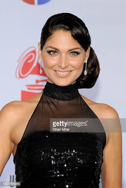 Actress Blanca Soto arrives at the 12th annual Latin GRAMMY Awards at the Mandalay Bay Resort Casino on November 10 2011 in Las Vegas Nevada