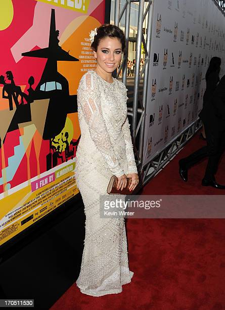 Actress Blanca Suarez arrives at the premiere of Sony Pictures Classics 'I'm So Excited' during the 2013 Los Angeles Film Festival at Regal Cinemas...