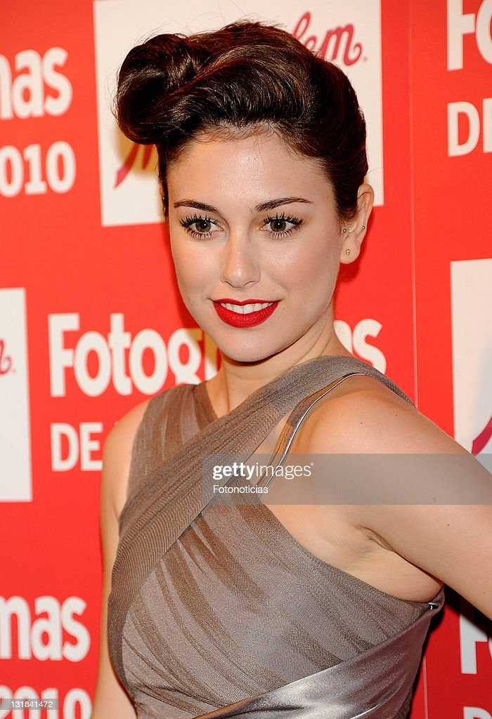Actress Blanca Suarez arrives to the 'Fotogramas Awards 2010' ceremony at Joy Eslava on March 14 2011 in Madrid Spain