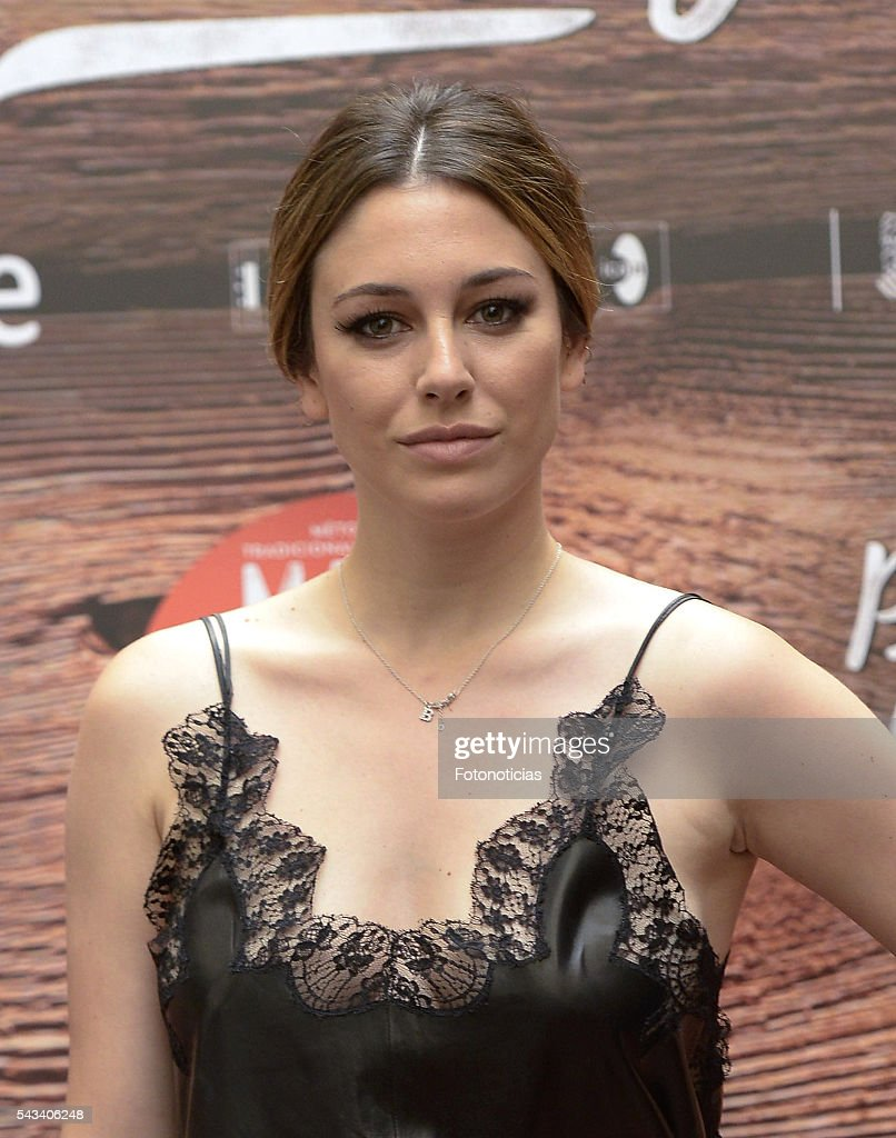 Actress <a gi-track='captionPersonalityLinkClicked' href=/galleries/search?phrase=Blanca+Suarez&family=editorial&specificpeople=4708287 ng-click='$event.stopPropagation()'>Blanca Suarez</a> attends a photocall for 'Mi Panaderia de Brooklyn' at the Hospes Hotel on June 28, 2016 in Madrid, Spain.