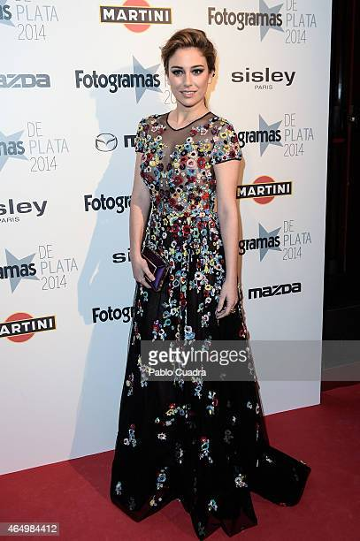 Actress Blanca Suarez attends 'Fotogramas Awards 2014' at Joy Eslava theater on March 2 2015 in Madrid Spain