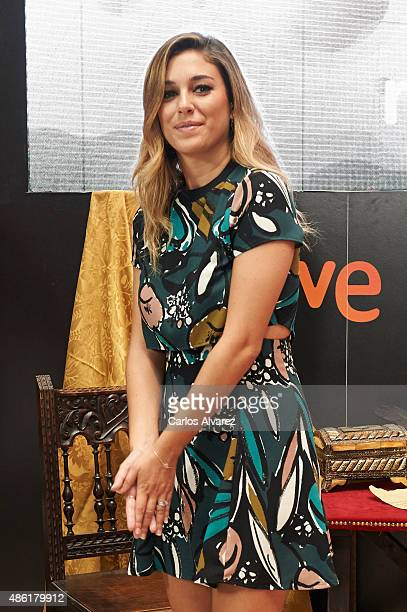 Actress Blanca Suarez attends the 'Carlos Rey Emperador' photocall during the 7th FesTVal Television Festival 2015 at the EscoriazaEsquivel Palace on...
