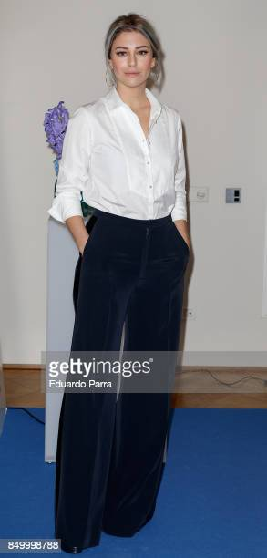 Actress Blanca Suarez attends the 'Germaine de Cappuccini' presentation at Las Letras hotel on September 20 2017 in Madrid Spain