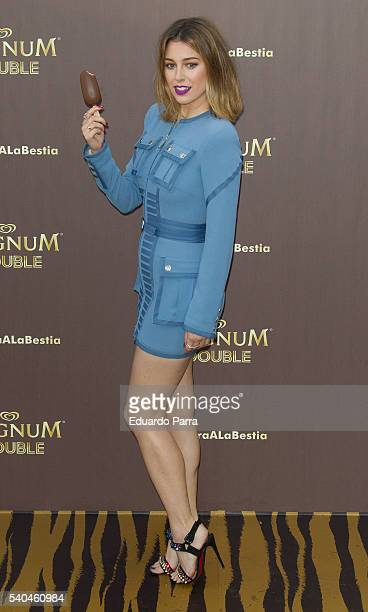 Actress Blanca Suarez attends the 'Magnum summer' photocall at Me hotel on June 15 2016 in Madrid Spain