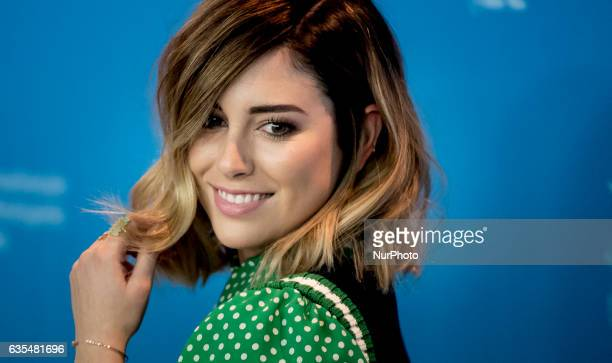 Actress Blanca Suarez attends the 'The Bar' press conference during the 67th Berlinale International Film Festival Berlin at Grand Hyatt Hotel on...